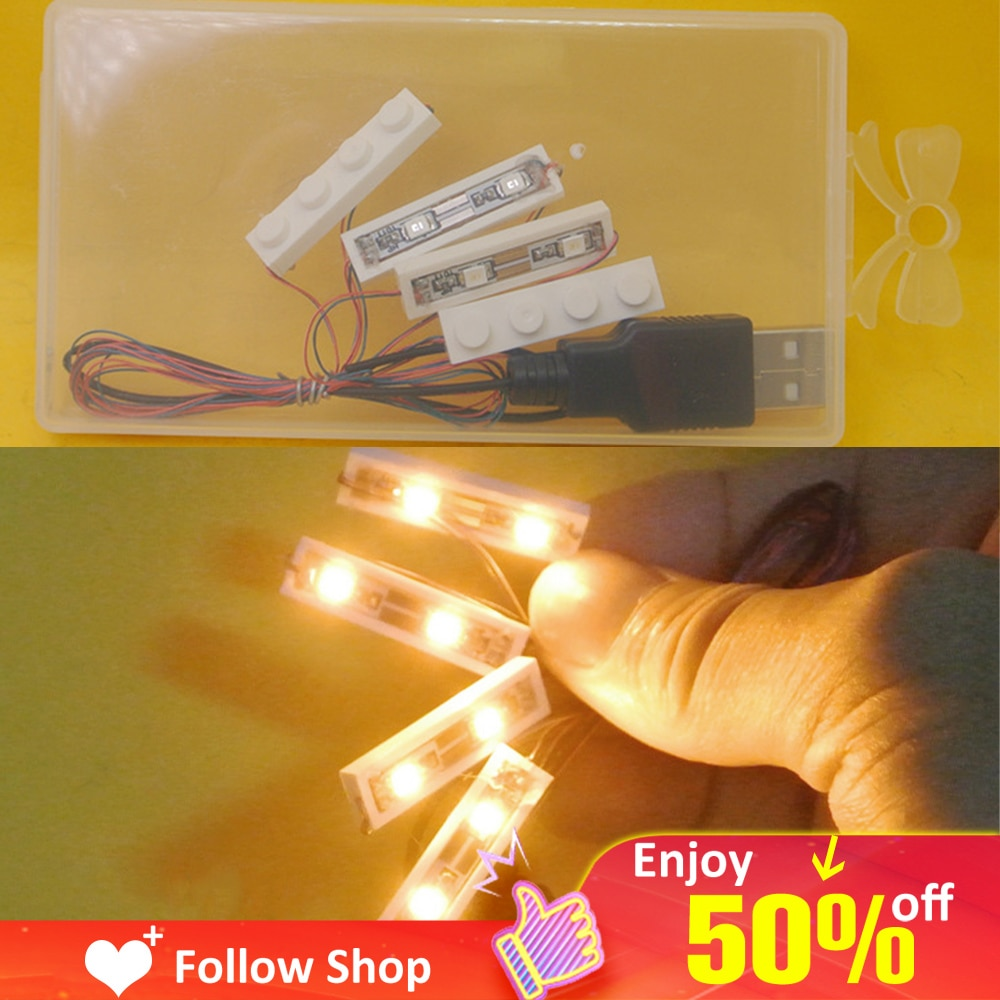 Novelty LED Light Kits For Any Toy Block Street Lamps Building City Street Novelty lighting Block Creator House DIY Child Gift