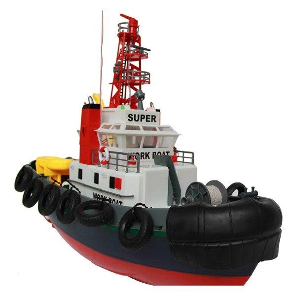 Chico creativa juguete educativo juguete barco Rc 3810 Control remoto Barco de fuego al aire libre juegos al aire libre de rociadores de agua Jet de juguete chico mejor regalo