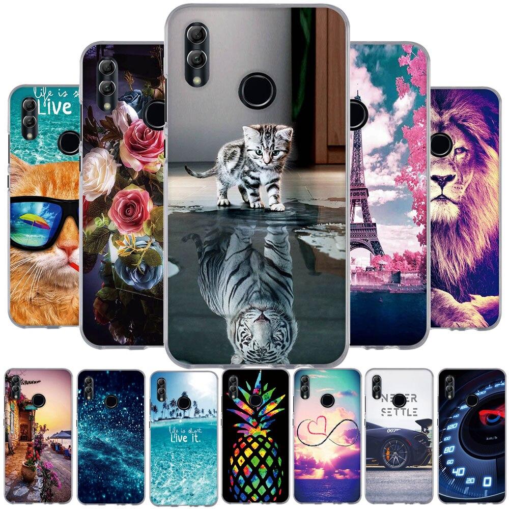 Coque en Silicone pour Huawei P Smart 2019 pour Huawei Honor 10 Lite Capa pour Huawei P Smart 2019 POT-LX3 POT-LX1 6.21