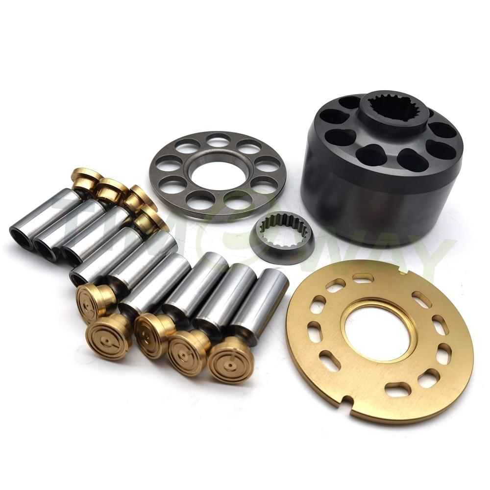 اسطوانة كتلة بيستونز صمام لوحة الهيدروليكية مكبس عدة إصلاح مضخات الوقود قطع غيار المضخة ل ريكسروث A10VG63 Rebulid