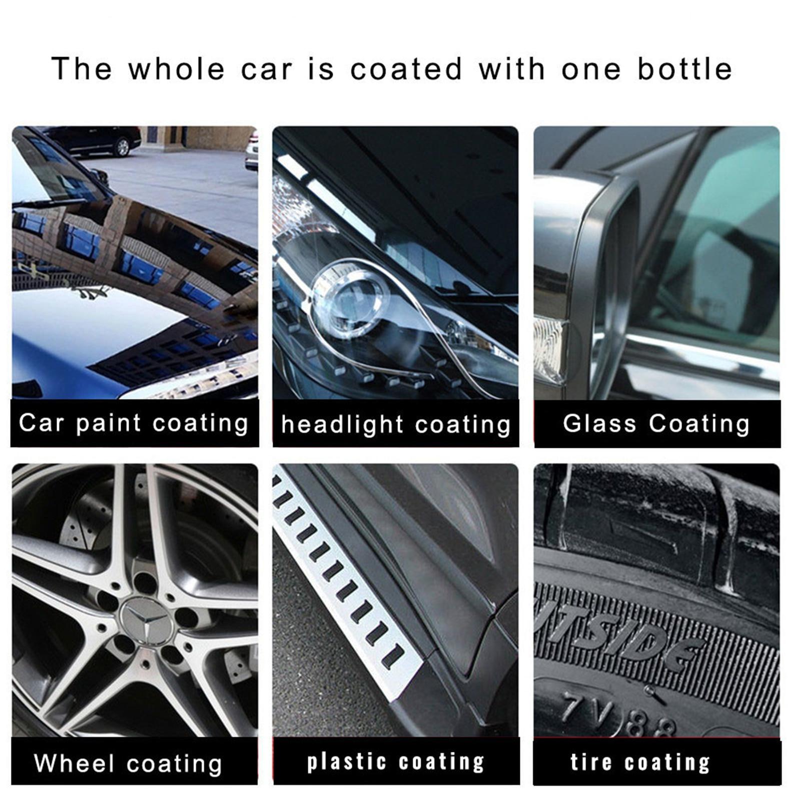 500ml Automotive Ceramic Coating Nano Glass Plated Crystal Liquid Hydrophobic Coating Car Polish Clean spray Paint Agent enlarge