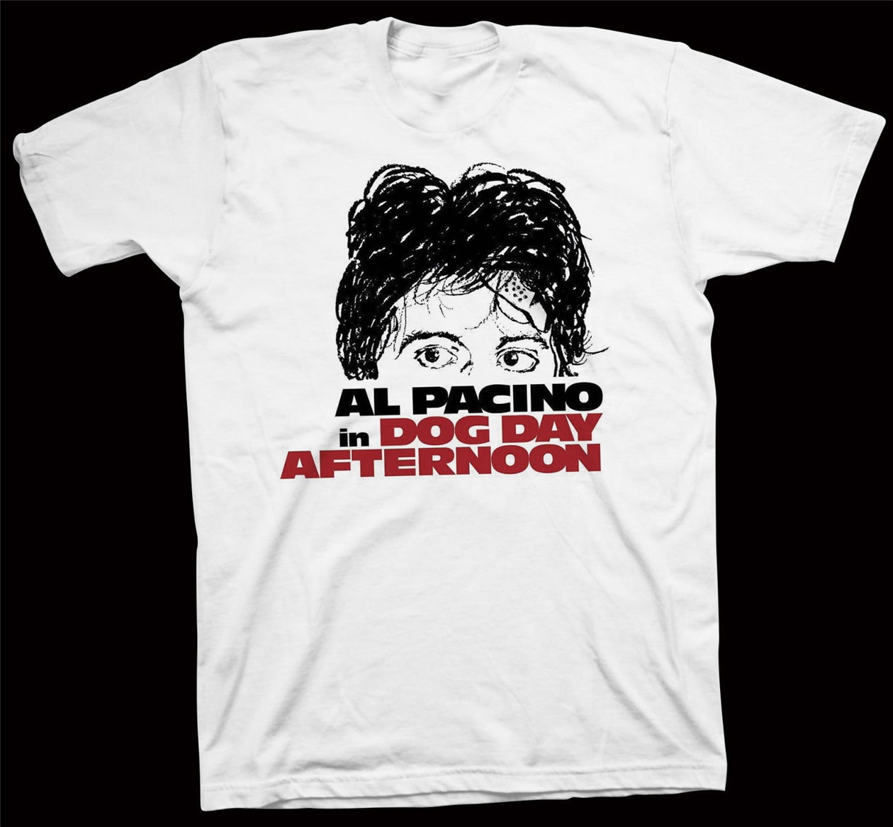 Camisetas de la tarde para el día del perro, camiseta de Sidney Lumet, Al Pacino, John Cazale, camiseta de cine de Hollywood con estampado Digital