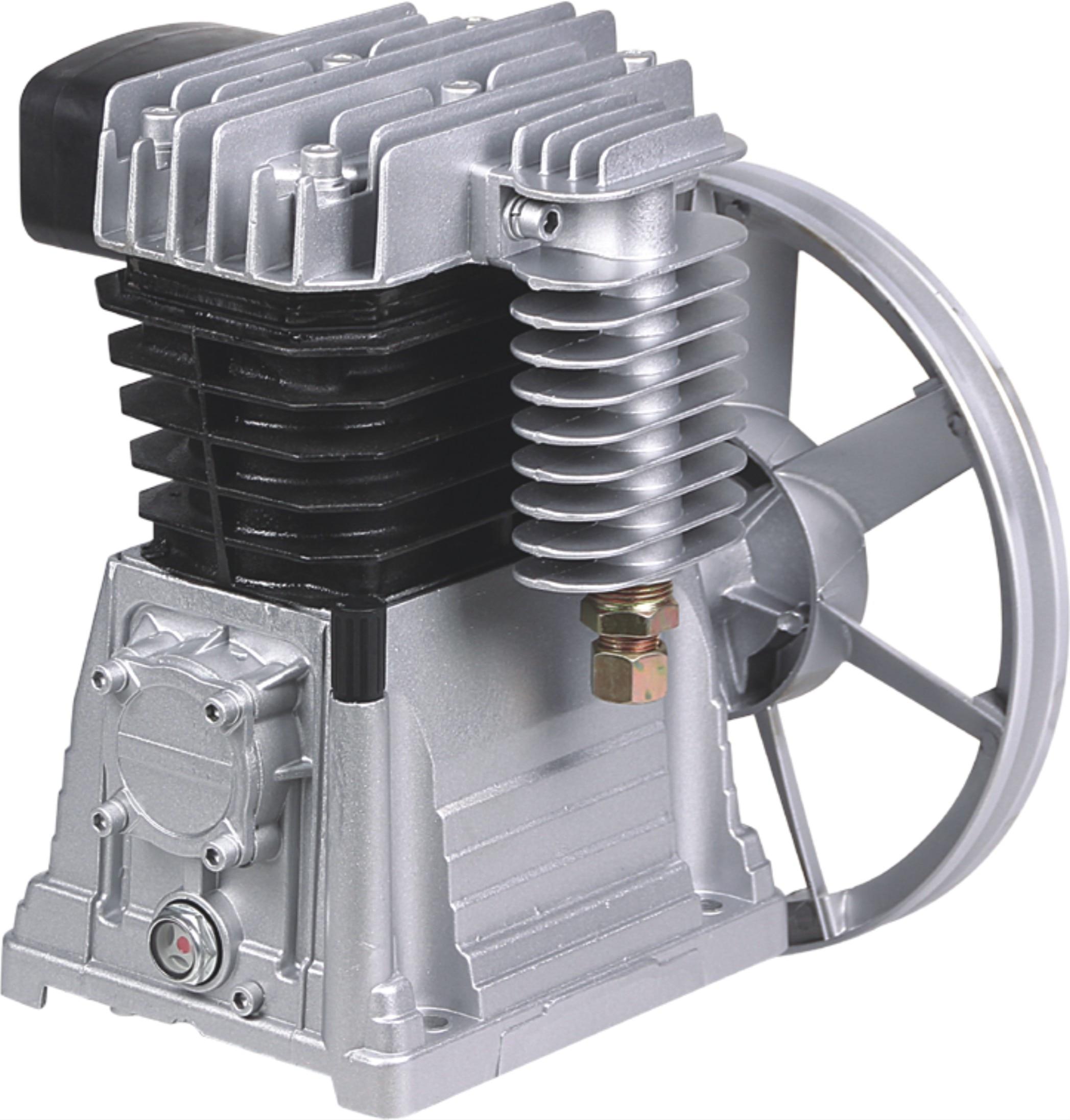 1.5kw/1.8kw/2.2kw ملتصقة اثنين اسطوانة مضخة 115PSI منخفضة الضوضاء تحسين المنزل الطلاء رذاذ الألومنيوم رئيس مضخة هواء الصناعية