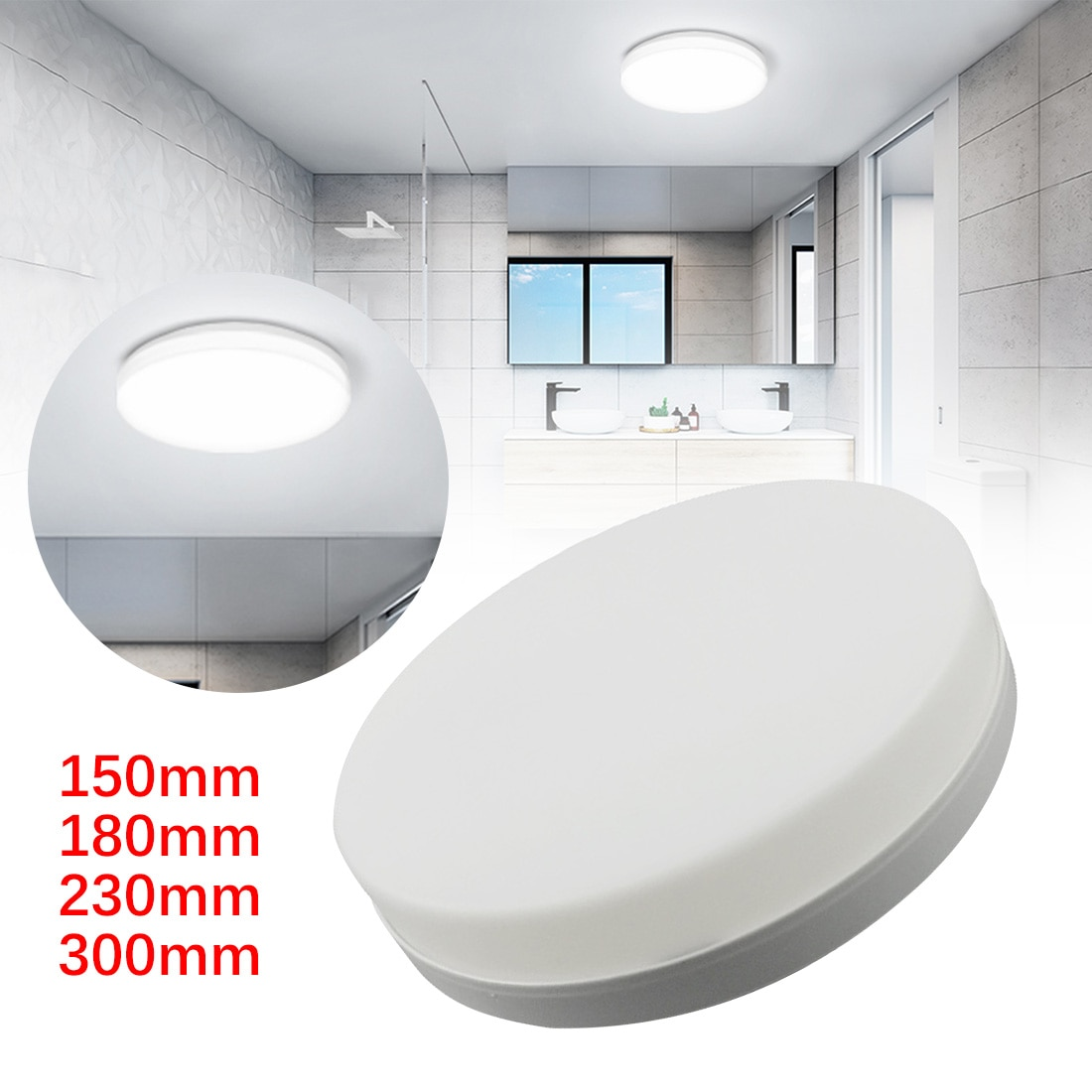 ultra fino conduziu a lampada do teto para o quarto conduziu luzes painel 48w 36