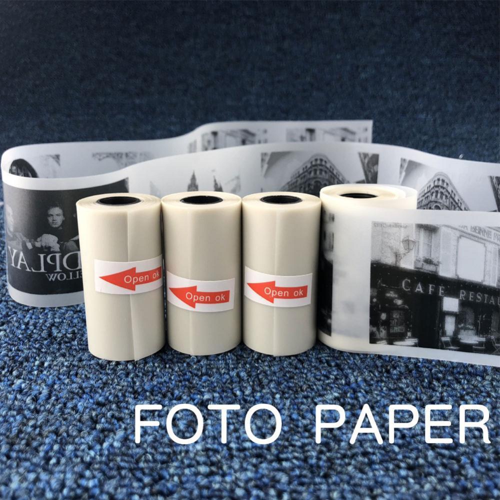 Полупрозрачная бумага для Термальной Печати, 57x30 мм