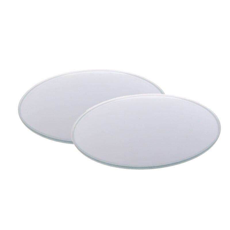 1 par 360 frameless grande angular redondo convexo ponto cego espelho retrovisor