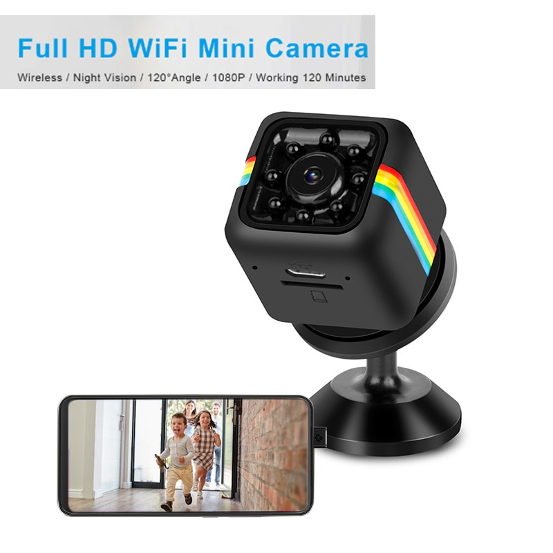 Mini Video Camera HD 1080P Wifi IP Home Security Camera Consumer Electronic Micro Camcorder Night Vision Surveillance Camera