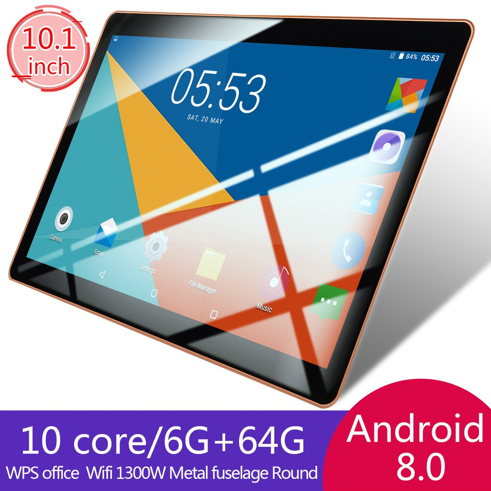 10.1 Inch Notebook Android Laptop Android Tablets Wifi Mini Computer Netbook Dual Camera Dual Sim Ta