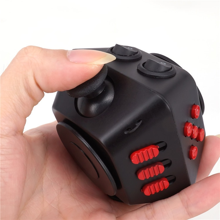 New  Spinner Cube  Antistress Magic Stress Cube Relieve Anxiety Boredom Finger Cube ToyCombination Stress Upgraded enlarge