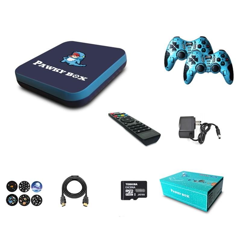Android TV Box 128GB 41000 Games Wifi TV Game Console Box Amlogic A905 for PSP PS1 DC Gams Retro Player H.264 HD Output enlarge