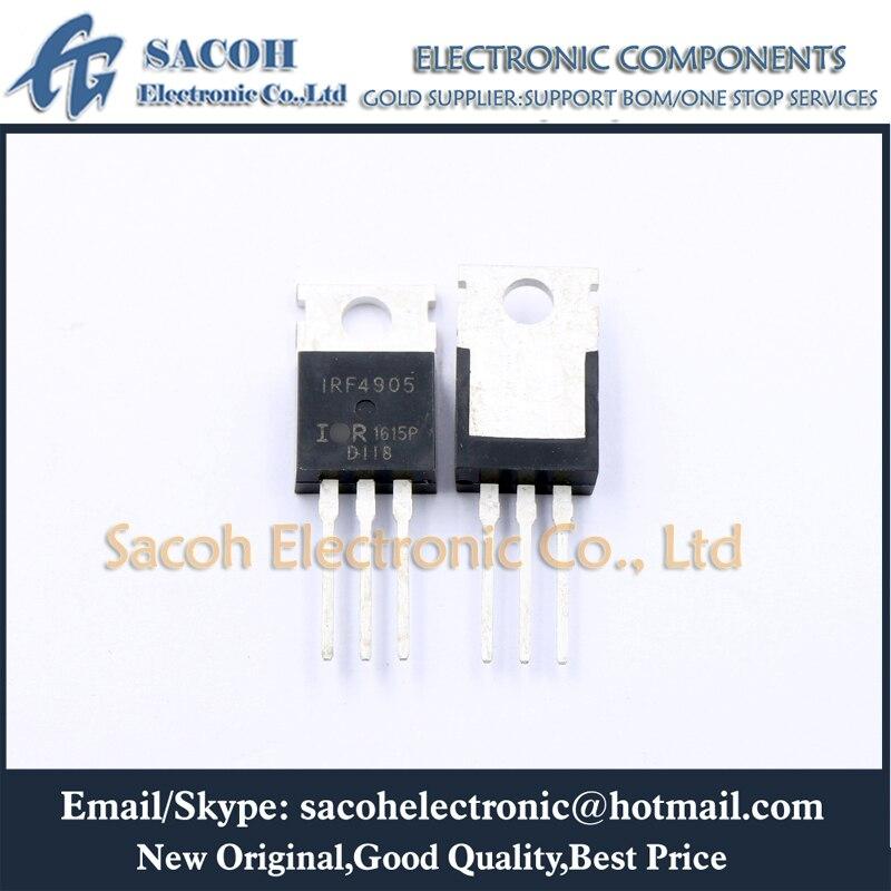10 шт. транзистор IRF4905PBF IRF4905 или IRF4905L F4905L TO-220 74A 55В P-канальный мощный МОП-транзистор