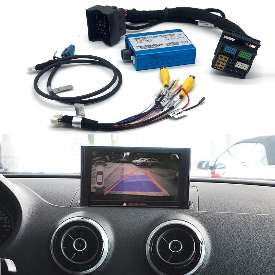 Plug And Play, asistencia para el coche, cámara de visión delantera/trasera, asistencia para el parque, interfaz Multimedia para Audi A6 C7 2015, sistema de MIB2 de mayo