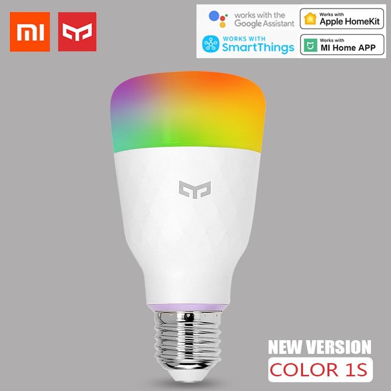 Yeelight Smart LED Bulb 1S Colorful Lamp 800 Lumens 10W E27 For Xiaomi Mi Mijia App/Apple Homekit/Google Assistant/Smartthings