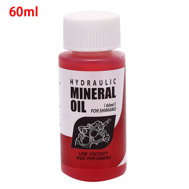 Bicycle Disc Brake Oil Bicycle Brake Mineral Oil for Mountain Road Bike All Brake Systems Mineral Oil 60ml Fluid Universal Oil