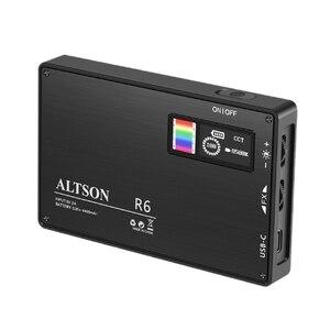 R6 Fill Light LED Full Color RGB Photography Light Pocket Portable Handheld Multi-Function Live Broadcast