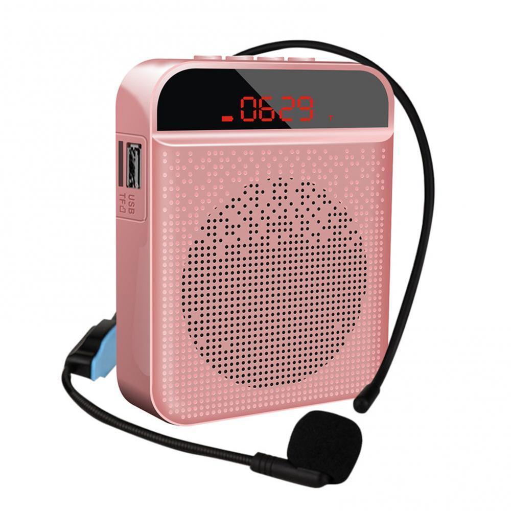 Minialtavoz multifuncional con Bluetooth 5,0, amplificador de voz con micrófono, micrófono profesional