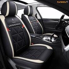 KAHOOL cuir housse de siège de voiture pour HUMMER H2 H3 voiture-style auto accessoires voiture autocollants tapis noir/jaune/rose/orange/violet