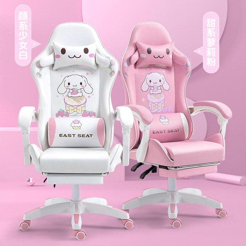 Новинка 2021, компьютерное кресло, розовое игровое офисное кресло, кресло с откидывающейся спинкой, Гоночное кресло, компьютерное кресло компьютерное кресло fred черное компьютерное кресло черный пласти