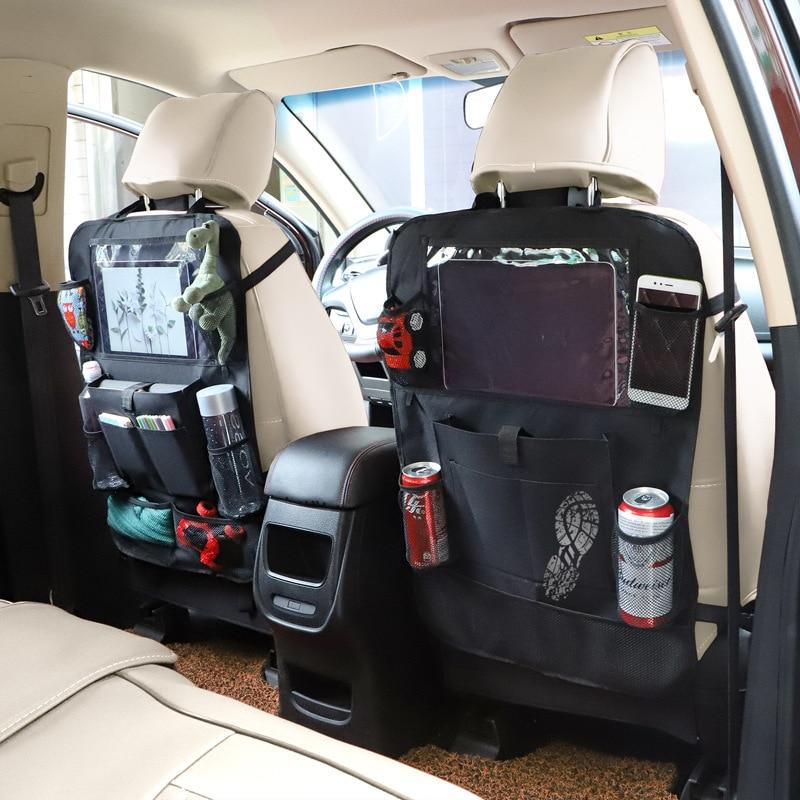 Сумка для коллекции автомобиля, подвесная Сумка на спинку автомобильного кресла, многофункциональная отделочная сумка, автомобильные прин...