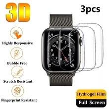 lamina de hidrogel protector pantalla Apple Watch SE Series 6 5 4 44mm 40mm 3 2 1 42mm 38mm (no vidrio templado) protector Apple Watch SE Series 6 5 4 44mm 40mm 3 2 1 42mm 38mm (no cristal templado )
