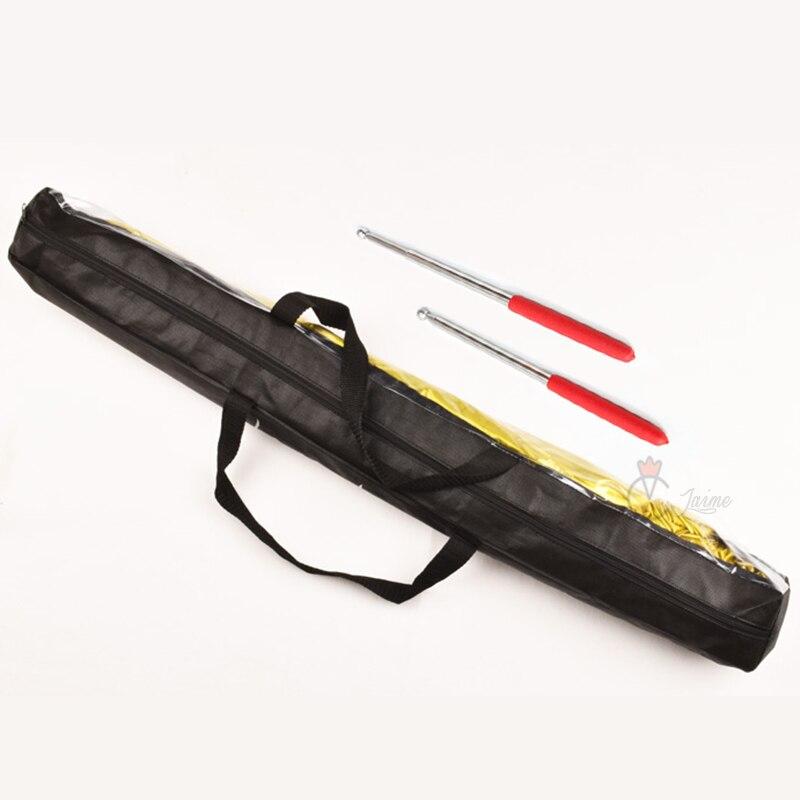 Алюминиевые палочки для танца живота, размер 95 см (длина) х 0,6 см (диаметр)