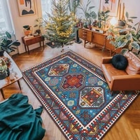 high quality turkey persian geometric parlor big carpets for living room home ethnic style large area rugs for bedroom floor mat