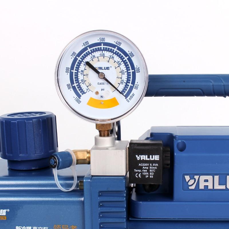 New type air conditioning vacuum pump VRP-8Di / VRP-8DV intelligent digital display vacuum pump machinery enlarge