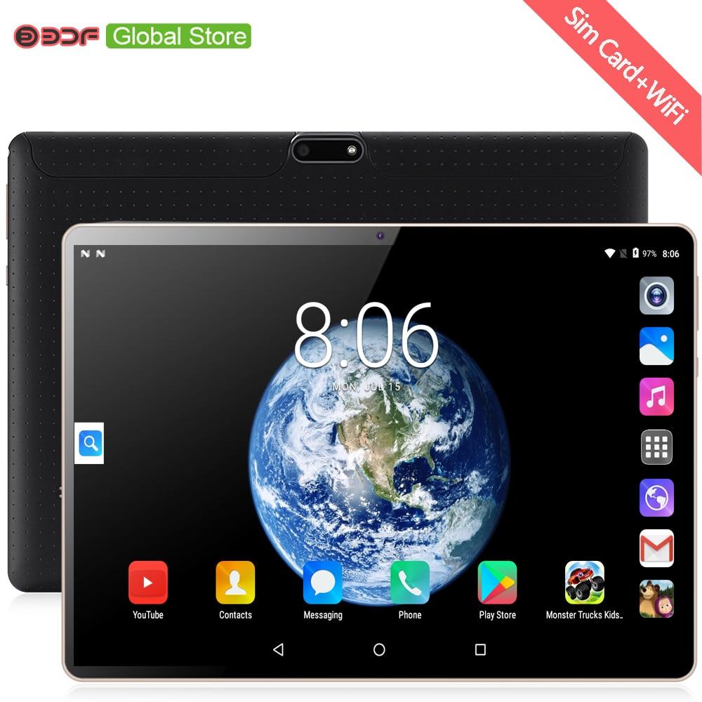 Tableta Pc Original de 10 pulgadas, llamada telefónica 3G, tarjetas SIM duales, Android 7,0, marca CE, Google Play, WiFi, GPS, tabletas Android de 10,1 pulgadas