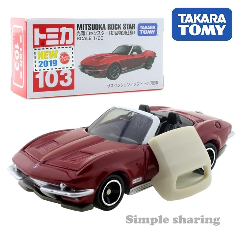 Takara Tomy Tomica No.103 mitsuoka rock star Sport car toy 1:60 miniature Diecast Model kit funny magic Kids Toys for children