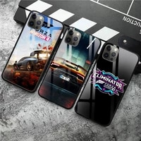 hot game forza horizon phone case tempered glass for iphone 12 pro max mini 11 pro xr xs max 8 x 7 6s 6 plus se 2020 case