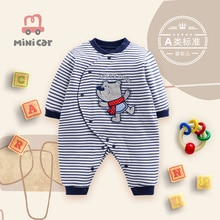 Car children's clothes baby one piece clothes boy baby's Romper spring and autumn winter one piece c
