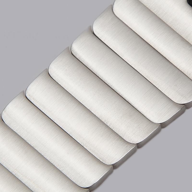1:1 الفولاذ المقاوم للصدأ حزام ساعة اليد ل أبل ووتش SE 6 5 4 3 2 1 للطي المشبك الفرقة ل iwatch 38 مللي متر 44 مللي متر 40 مللي متر 42 مللي متر سوار
