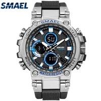 smael sport watches waterproof men watch led digital watch military male clock relogio masculino erkek kol saati 1803 men watch