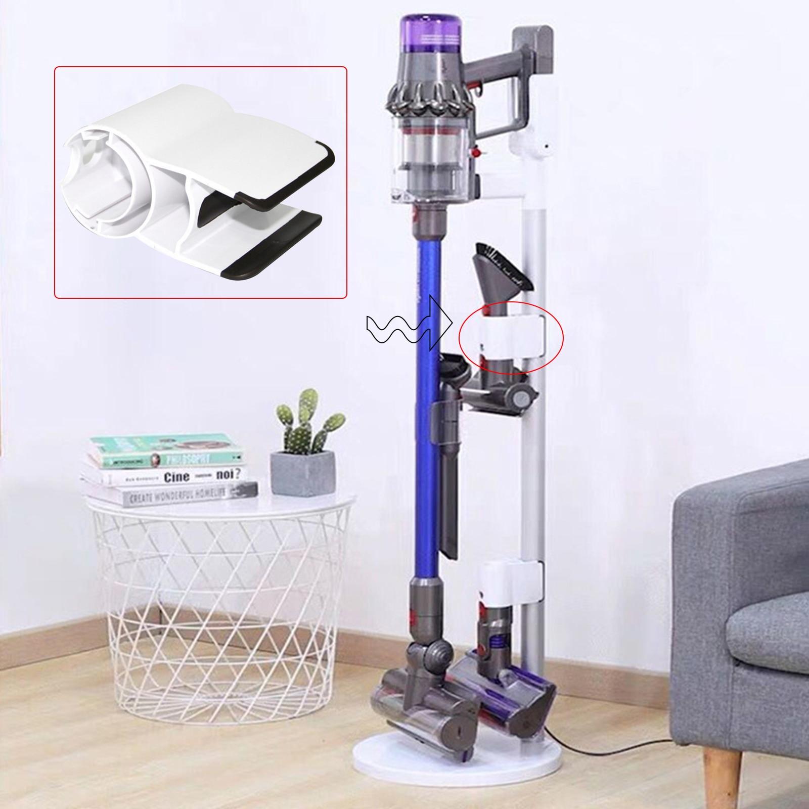 Vacuum Cleaner Brush Head Clip Tube Clamp for Dyson V7 V8 V10 V11 Wireless Vacuum Cleaner Holder Attachment aspirador Accessory