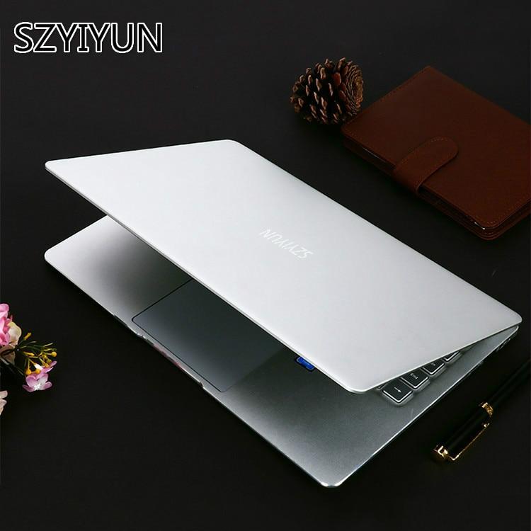 14 ''N4100 Metal de Mini ordenador portátil Intel 8G RAM negocio portátil PC Teclado retroiluminado entretenimiento estudiante Netbook