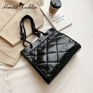 Luxury Famous Brand Designer Fashion Female Handbag Cross Body Bag PU Leather Women Plaid Shoulder Bag Chain Messenger Bag
