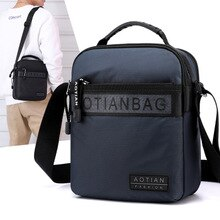 2020 new mens nylon shoulder bag man waterproof casual lightweight crossbody bag Korean outdoor travel bag