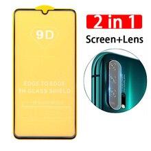 2 in 1 9D Tempered Glass + Camera Lens class for Xiaomi Redmi Note 8 7 6 5 Pro Screen Protector For Redmi 8 8a 7 6 Pro 6a 5 Plus