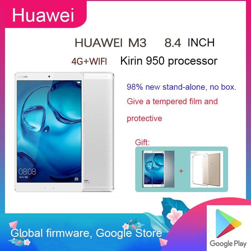 Sem caixa global de firmware huawei m3 tablet pc 8.4-inch 2k hd tela chamada de telefone móvel android jogo console em linha classe tablet pc