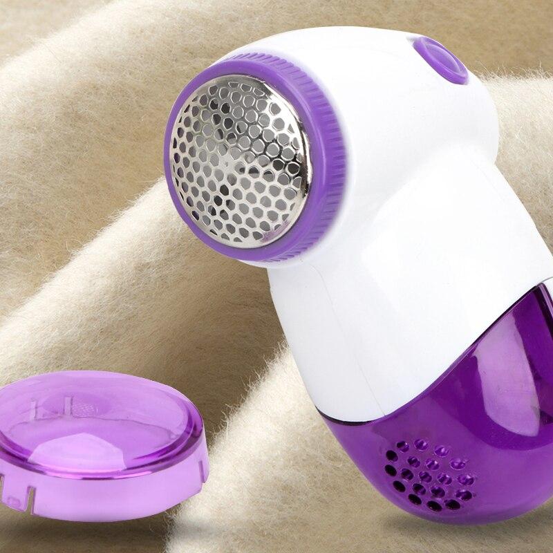 Afeitadora de bolas de pelusa de tela portátil, removedor de pastillas de pelusa para ropa, máquina de corte eléctrico de pelotillas de pelo, Color al azar
