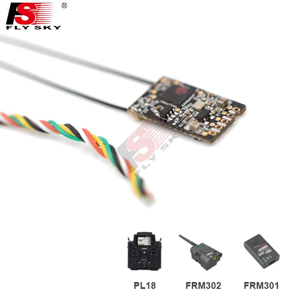 Flysky FTr16S, antena Dual bidireccional, i-bus/S-BUS/PPM, minireceptor estándar para Flysky PL18, Paladin, RFC, transmisor