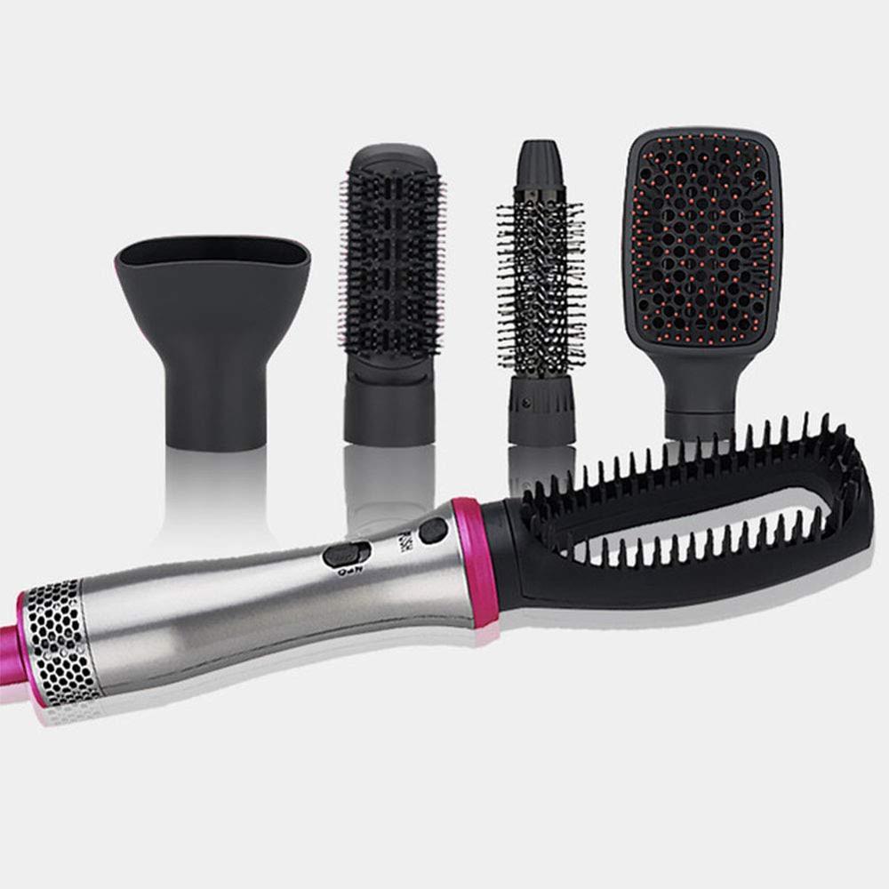 5 em 1 quente ar escovas de cabelo volumizer multifuncional alisador de cabelo pente