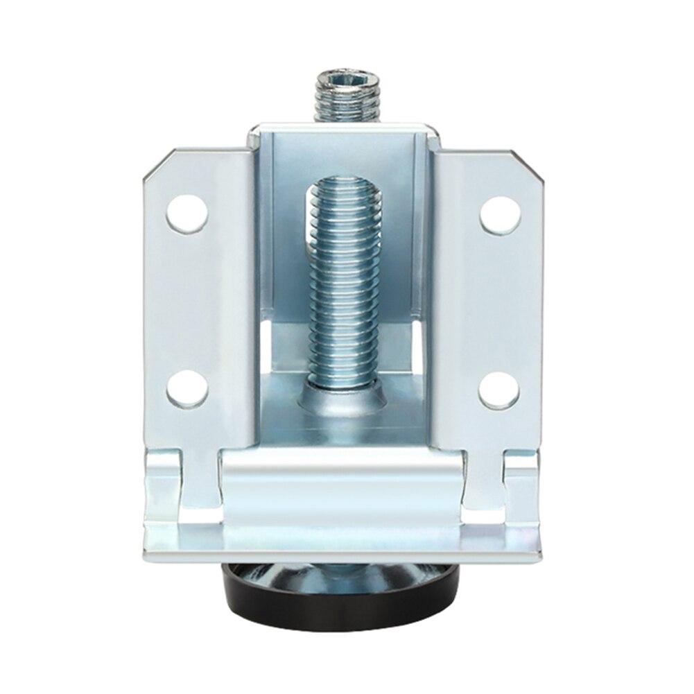 Los pies pequeños más nuevos de 2/4/10 Uds nivelador de gran resistencia para unidades de estante de mesa fácil ajuste fuerte capacidad de carga