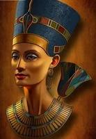 5d diy diamond paintingnefertiti egyptian queencross stitch full diamond embroidery mosaic pattern beads