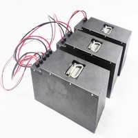new deep cycle lithium ion battery 12v 100ah lifepo4 battery pack bms led indicator for solar energy storage boat rv use