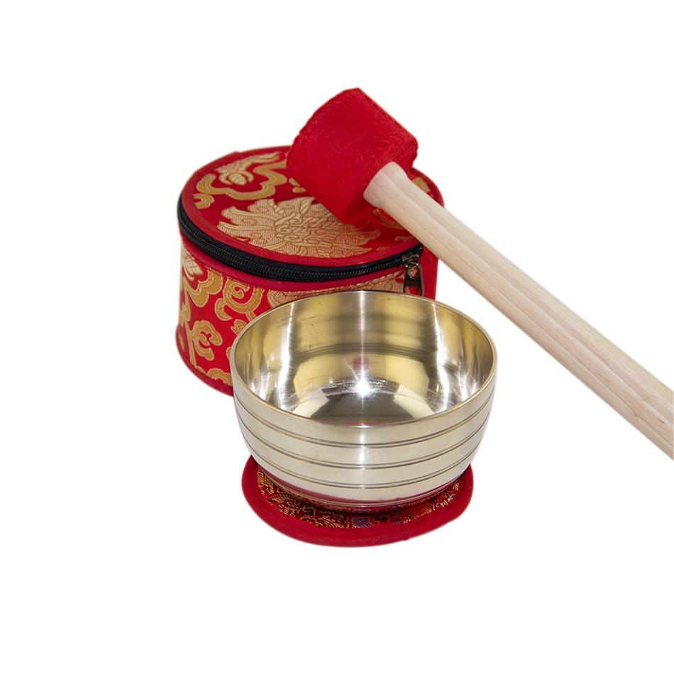 Himalayan Singing Bowl Sets Chakra Healing Tibetan Hammered Himalayan Singing Bowl Set of 7 Meditation Bowls Hand Bow 7 Note Set enlarge