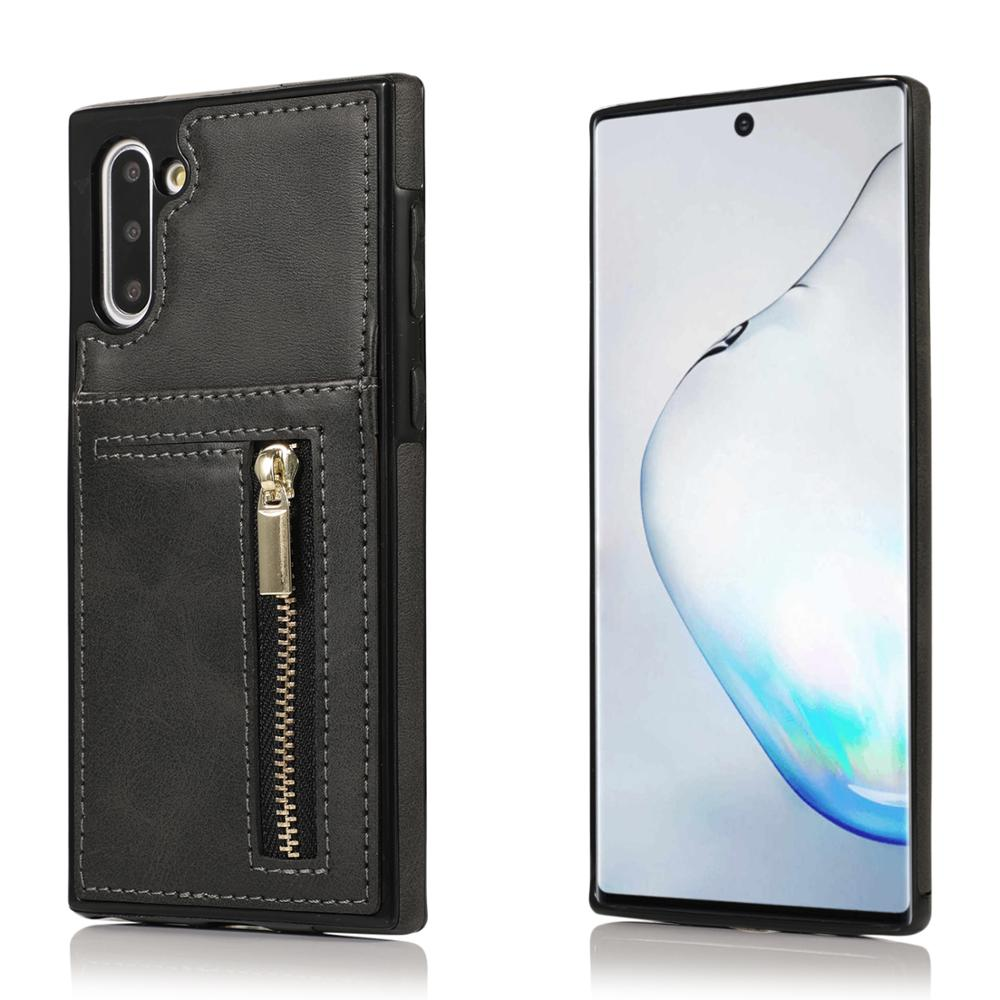 For Samsung Galaxy Note 10 Plus Case PU Leather Card Luxury Phone Cover S7 Edge S8 S9 S10 S20 Plus Ultra S10E Note 9 8 Back Case enlarge