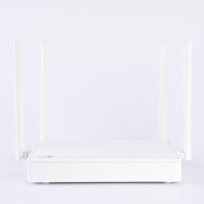 4 قطعة BT-763XR 4GE + 2.4 جرام/5 جرام التيار المتناوب واي فاي 1USB 4 هوائيات XPON ONU المزدوج الفرقة متوافق ont onu الألياف البصرية راوتر Xpon ont onu ل olt