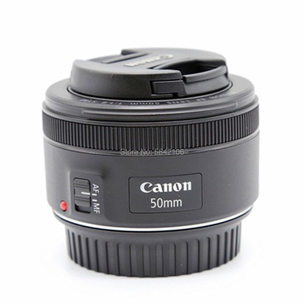 كانون EF 50 مللي متر f/1.8 STM عدسات لكاميرات كانون EOS 6DII 7DII 60D 70D 80D 100D 200D 750D 760D 77D 1100D 1200D 1300D 1500D 800D 9000D