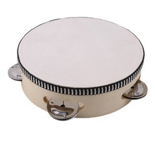 Niños Mini tambor niños educación Musical temprana instrumento bebé juguete instrumento de golpe tambor de mano juguete